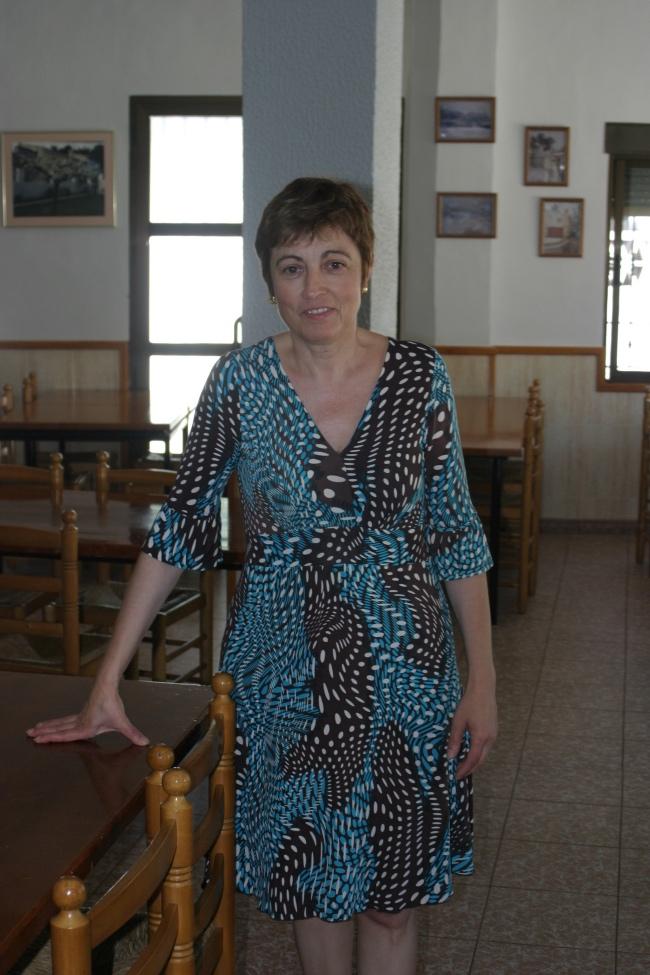 Mari Carmen Donyet en Parpalló