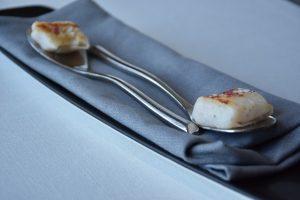Ravioli de calamar relleno de blanquet